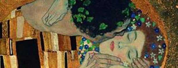 Klimt bacio affettività